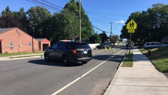 Person Hit by Car on Gravel Street in Meriden