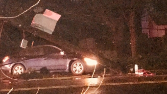 Crash Causes Power Outages in Milford