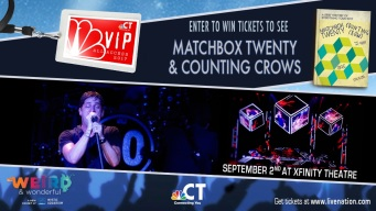 Matchbox Twenty and Counting Crows VIP Ticket Sweepstakes