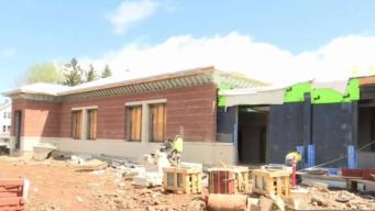 Mayor, School Officials Tour New Britain School Renovation Project