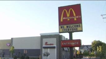 McDonald's Sign Appears to Take Dig at New Neighbor