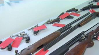 More Than 260 Guns Collected During Gun Buybacks in Hartford, New Haven