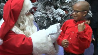 Signing Santa Delivers Holiday Joy