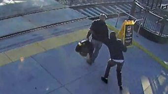 Caught On Cam: Mystery Hero Saves Blind Man