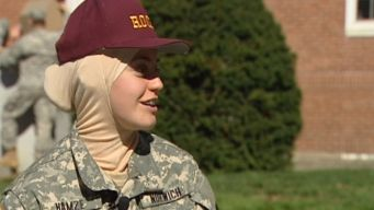 Military College Welcomes Hijabs