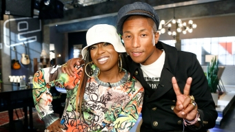 Pharrell and Missy Together on 'The Voice'