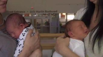 New Jersey Twins Give Birth on Same Day