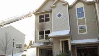 New London Family Displaced by Fire