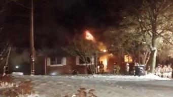 Seymour Home Destroyed by Fire