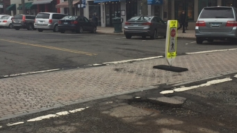 Potholes Return With Warmer Weather