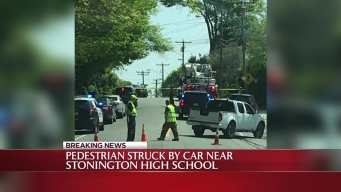 Pedestrian Hit in Stonington