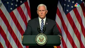 Pence Outlines New 'Space Force' Military Branch