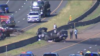 Police ID 2 Killed in Multi-Vehicle Crash on I-84 East in Tolland