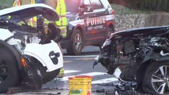 Police Investigate Crash in West Hartford