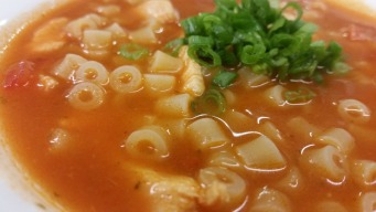 Quick and Easy Tomato-Chicken Soup