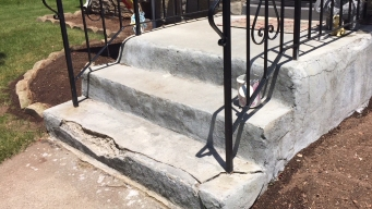Stone Steps Falling Apart One Year After Repairs
