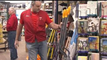 Residents Replenish Winter Supplies Ahead of Storm