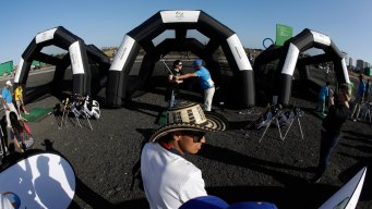 Rio Offers Chance to Train Like Olympians at Fan Zones