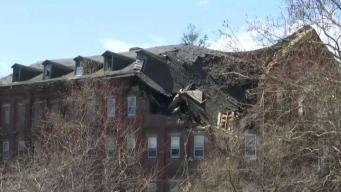 Roof of Abandoned Mill Collapses in Stonington