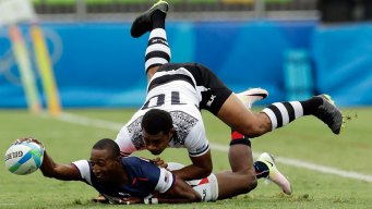 US Loses to Fiji in Men's Rugby