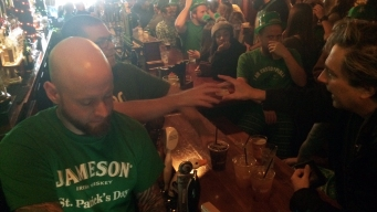 St. Patrick's Day Keeps Bars and Police Busy