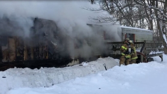 Crews Respond to Mobile Home Fire in Sterling