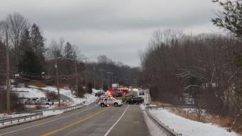 Serious Injuries Reported in Crash on Route 6 in Chaplin