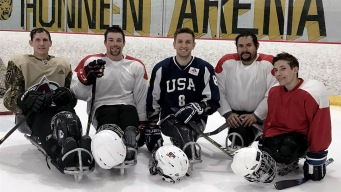 After Losing Legs, Sled Hockey Helped This Soldier Recover