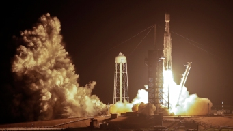 SpaceX Launches Falcon Heavy Rocket Carrying 24 Satellites