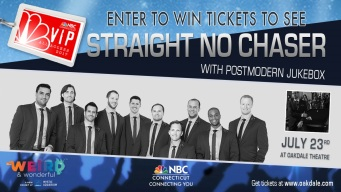 Straight No Chaser With Postmodern Jukebox VIP Ticket Sweepstakes