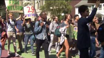 Students Rally For Man Facing Deportation