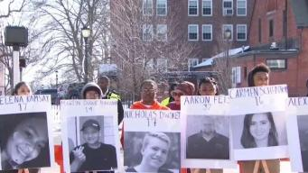 Students in CT Walkout to Protest Gun Violence
