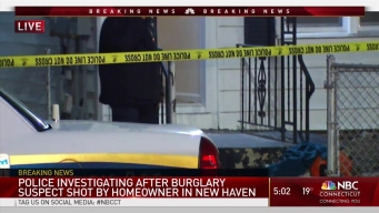 Suspected Burglar Shot Trying to Enter Home: Police