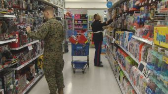 Marines Kick Off Toys for Tots