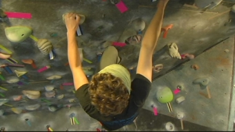 This Weekend:  Indoor Rock Climbing
