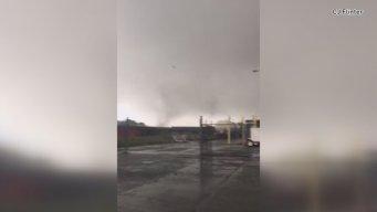 Aerial Views of Tornado Damage in North Haven