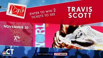 Travis Scott VIP Ticket Sweepstakes