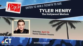 Tyler Henry VIP Ticket Sweepstakes