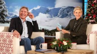'Ellen': Harrison Ford Talks Plane Crash Injuries