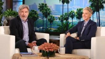 'Ellen': Ford Has Advice for Aspiring Han Solos
