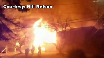 Vernon Home Damaged by Fire