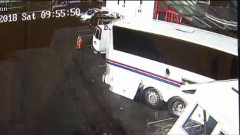 Video Shows Moment Bus Slammed into West Haven Business