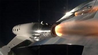 Virgin Galactic Spaceship Takes First Powered Flight