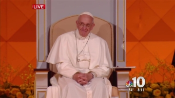 Singer to Wahlberg on Papal Stage: 'I Loved You in 'Ted,' By The Way'