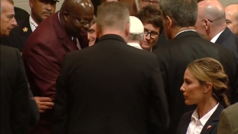 'Awe Inspiring' Moment With Pope Francis