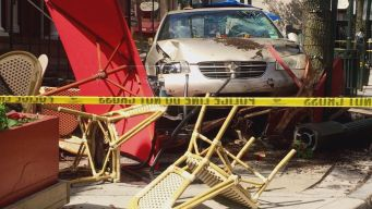 New Video Of Car Crashing Through Outdoor Seating At New Haven Restaurant.