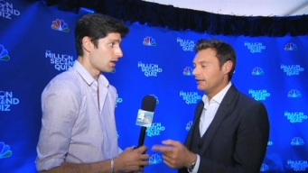 "Ryan Seacrest Talks Hosting ""Million Second Quiz"""