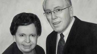 AARP Presents Portrait of Care to Wayne Detzler of Cheshire CT