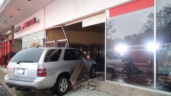 SUV Runs Into Westport Building