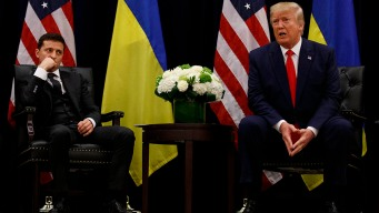 US Officials Knew of Ukraine's Trump Anxiety